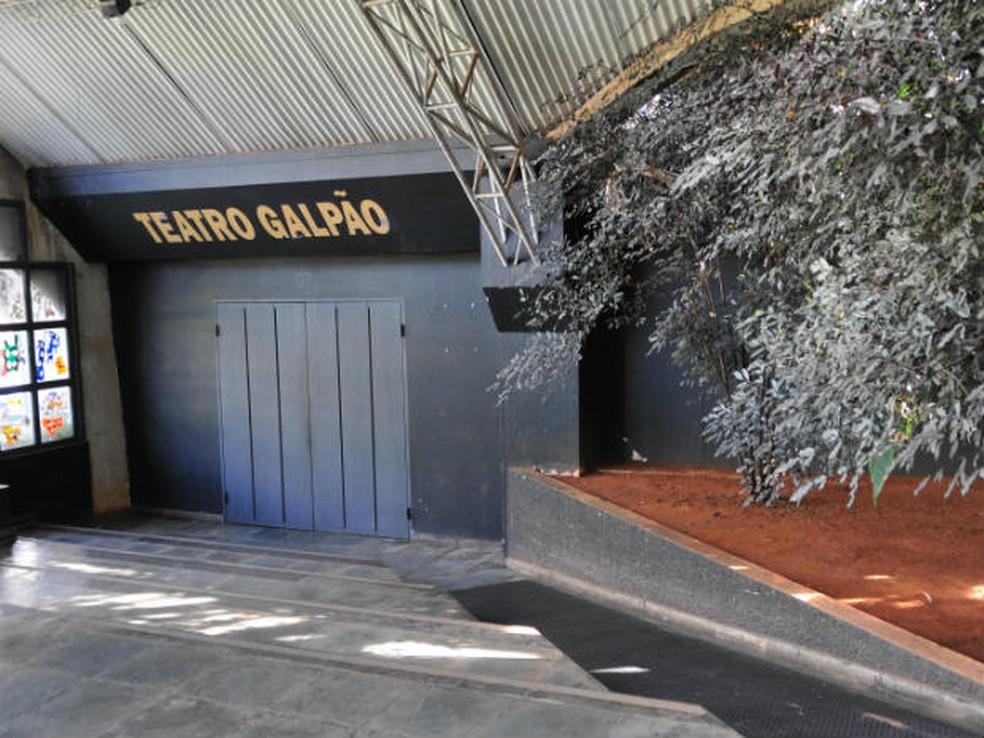 Teatro Galpão também deve passar por reparos. Governo prevê reabertura em 2017 (Foto: Renato Araújo/Agência Brasília)