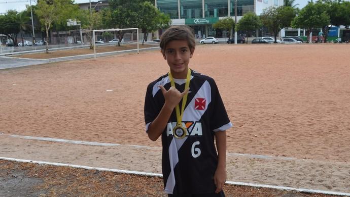 Guga Maia; Futebol; Amapá (Foto: Rafael Moreira/GE-AP)