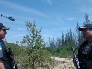 Operação em Macaé prende suspeito de chefiar tráfico (Foto: Divulgação/PM)