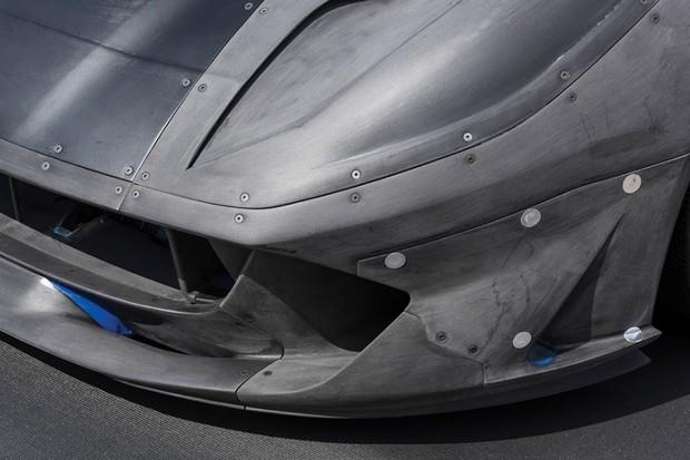 Protótipo em escala da Ferrari 812 Superfast  (Foto: Divulgação)