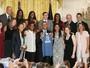 Atuais campeãs da WNBA, jogadoras do Lynx são recebidas por Obama