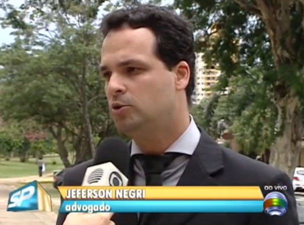 O advogado Jefferson Negri esclareceu dúvidas sobre o DPVAT no SPTV 1ª Edição (Foto: Reprodução/TV Fronteira)