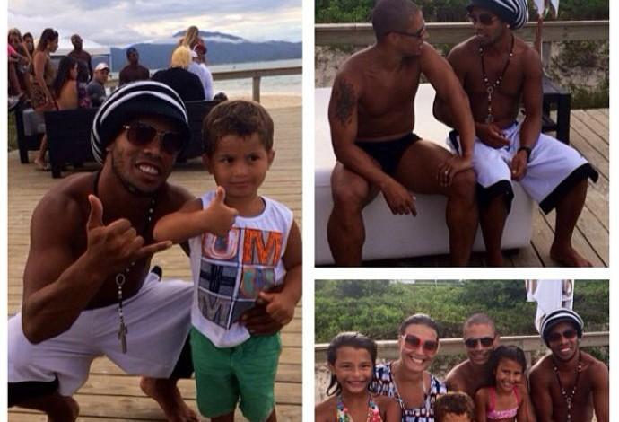 Alex Ronaldinho Gaúcho Jurerê Internacional (Foto: Reprodução / Instagram)