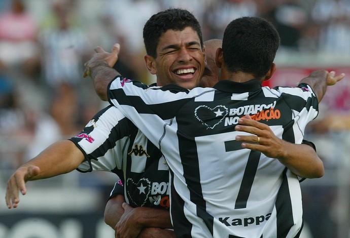 Schwenck, Botafogo, 2004 (Foto: GloboEsporte.com)