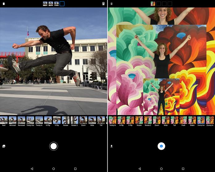 Criação de GIFs é feita com Strobe for Messenger (Foto: Divulgação)