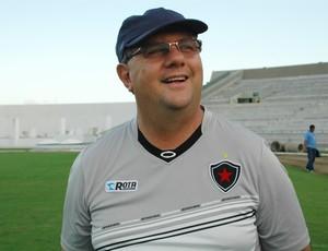 marcelo vilar, técnico do Botafogo-PB, botafogo-pb (Foto: Lucas Barros / GloboEsporte.com/pb)