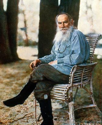 Leo Tolstoy morreu enquanto buscava uma vida mais simples, sem riqueza (Foto: Reprodução/Wikimedia)
