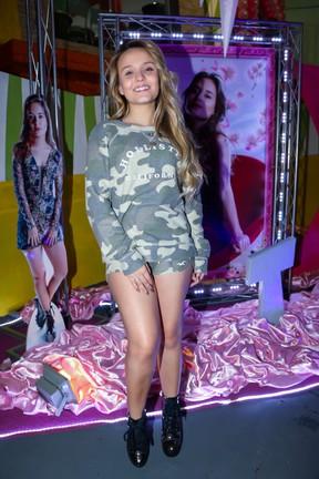 Larissa Manoela em festa em São Paulo (Foto: Manuela Scarpa/ Brazil News)