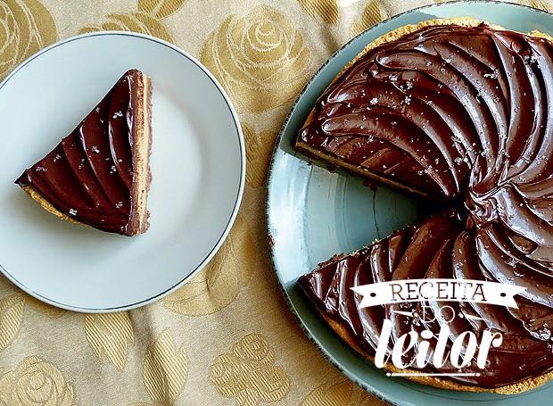 Cheesecake de doce de leite (Foto: Arquivo pessoal)