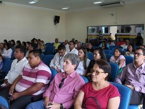 Audiência pública em Petrolina, PE (Foto: Juliane Peixinho / G1)