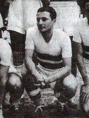 Alcy Simões pela seleção capixaba. Maior jogador da história do ES foi bicampeão pelo Vitória (Foto: Reprodução/Livro Rio Branco Atlético Clube: Histórias e Conquistas)