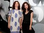Debora Bloch vai com a filha (a cara da mãe!) ao teatro no Rio