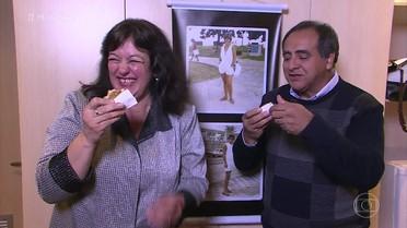 Conheça dois casais que engordaram após o casamento