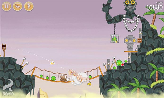 Angry Birds Season ganhou mais fases e outras novidades para Windows Phone (Foto: Divulgação/Windows Phone Store)