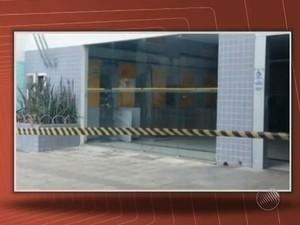 Explode agência Filadelfia (Foto: Reprodução/TV Bahia)