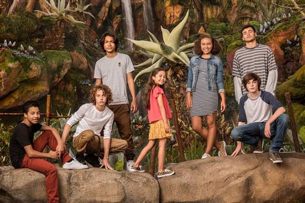 O elenco mirim das sequências de Avatar (Foto: Divulgação)