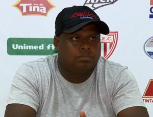 Mário Junior técnico Mogi Mirim (Foto: Vaner Santos / EPTV)