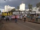 Professores protestam contra OSs na administração de escolas estaduais