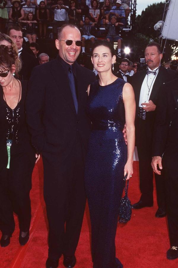 Demi Moore e Bruce Willis foram casados por 13 anos (Foto: Getty Images)