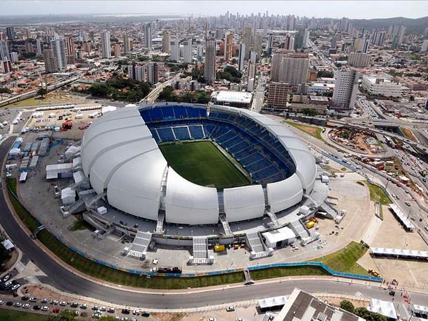 Arena das Dunas vai receber partida entre México e Camarões nesta sexta (13) (Foto: Canindé Soares/G1)