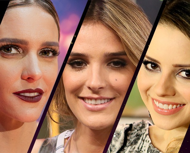 Fernanda Lima, Sandy e Rafa Brites no SuperStar 2015 (Foto: Gshow)