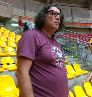 Welligton Salgado, presidente do basquete Uberlândia (Foto: Gullit Pacielle)