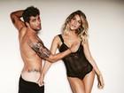 Giovanna Ewbank e Bruno Gagliasso posam em clima sensual para revistas
