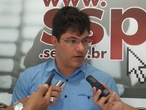 Delegado Hugo Leonardo (Foto: Marina Fontenele/G1)