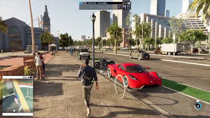 A São Francisco de Watch Dogs 2 divertiu jogadores ao trazer uma grande cidade viva para interagir através de tecnologia (Foto: Reprodução/YouTube)