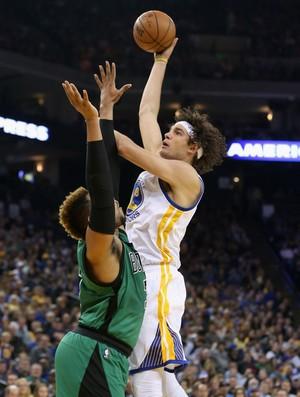 Anderson Varejão Warriors x Celtics NBA (Foto: Getty)