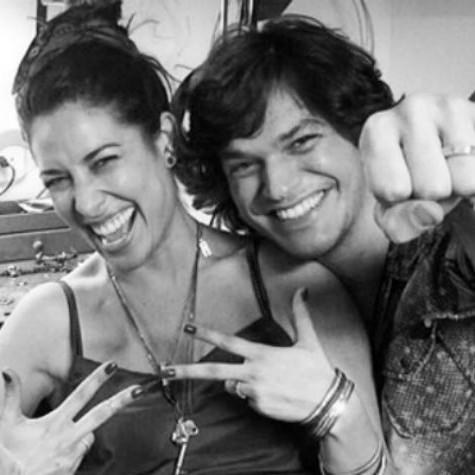 Giselle Itié e o marido, Emilio Dantas (Foto: Reprodução)