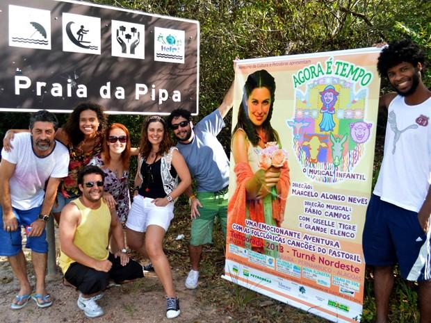 Em cartaz com o espetáculo Agora é Tempo, Aisha Jambo percorreu o nordeste (Foto: Arquivo Pessoal)