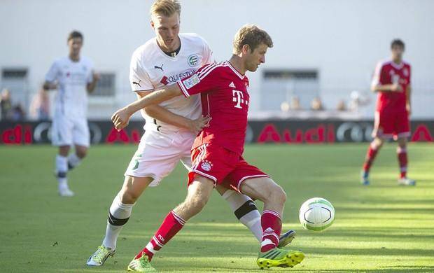Muller Bayern de Munique e gyor (Foto: Agência EFE)