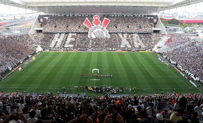 Torcida Arena Corinthians  (Foto: Agência Reuters)
