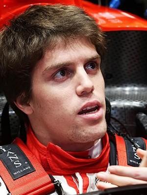 Luiz Razia Marussia testes Fórmula 1 Jerez (Foto: Divulgação Marussia)