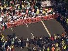 Milhares de europeus se manifestam a favor da acolhida de refugiados