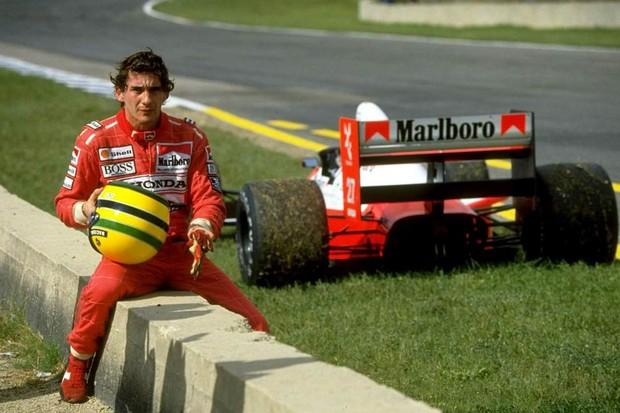 Senna foi quem mais venceu pela McLaren: 35 vitórias (Foto: Divulgação)