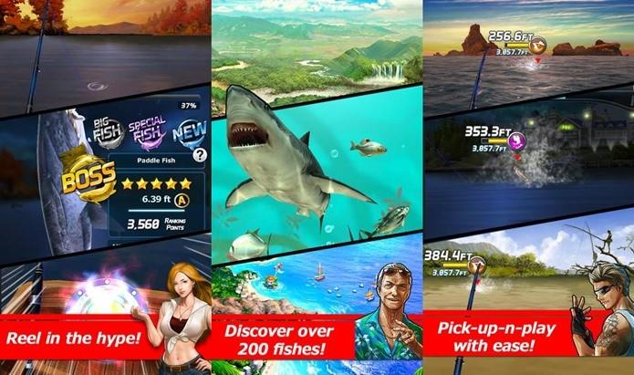 Jogo de pesca tem jogabilidade casual e clima de RPG (Foto: Divulgação)