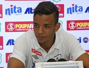 Stanly, atacante da Portuguesa Santista (Foto: Divulgação / Kourusport)