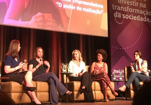 Paola Carosela, Sheila Makeda e Daniela Cruz participam da nova rodada do Itaú Mulher Empreendedora (Foto: Soraia Yoshida/Editora Globo)