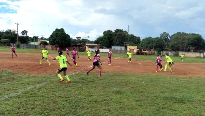 Futebol Feminino de Guajará-Mirim, RO (Foto: Luiz Antônio Silva/Arquivo Pessoal)