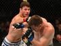 Bisping revela assunto da conversa com Dollaway durante luta no UFC 186