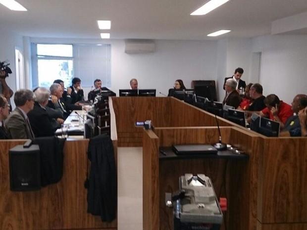 Audiência de transporte público reuniu sindicatos patronal e de trabalhadores (Foto: Gabriela Machado/Divulgação)