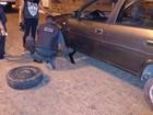 Policiais 'salvam' mulheres que não sabiam trocar pneu em Boa Vista