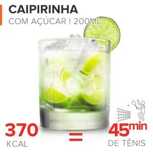 EuAtleta - calorias caipirinha (Foto: Arte Eu Atleta)