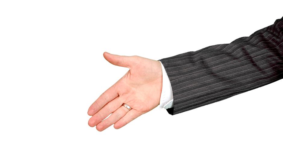 Mão, aperto de mão (Foto: Pexels)