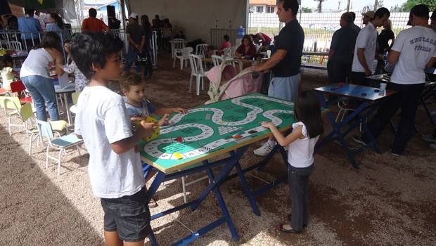 Justiça nos Bairros promoveu cidadania e lazer para os moradores (Foto: Divulgação/RPC TV)