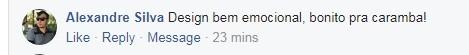Comentário Fiat Cronos  (Foto: Reprodução Facebook )