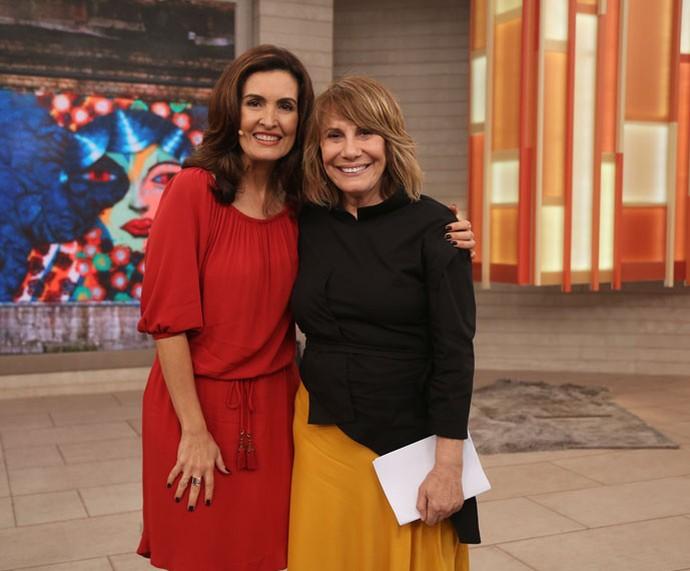 Renata Sorrah foi convidada do Encontro (Foto: Isabella Pinheiro/Gshow)