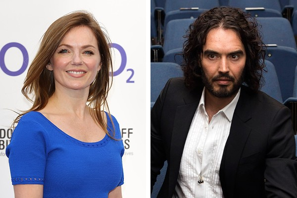 Geri Halliwell e Russell Brand (Foto: Getty Images)